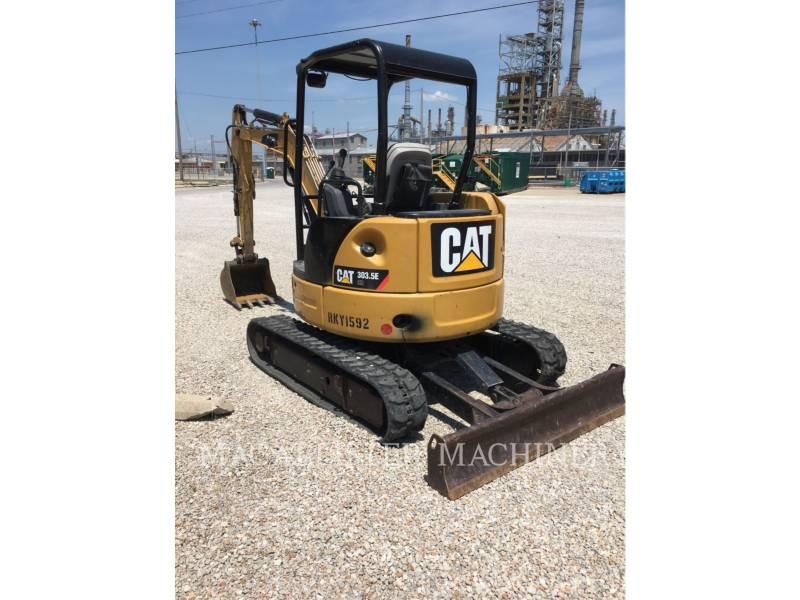 CATERPILLAR TRACK EXCAVATORS 303.5ECR equipment  photo 3