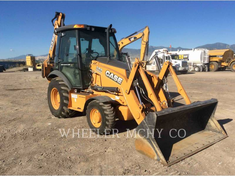 CASE BACKHOE LOADERS 580 SN equipment  photo 2
