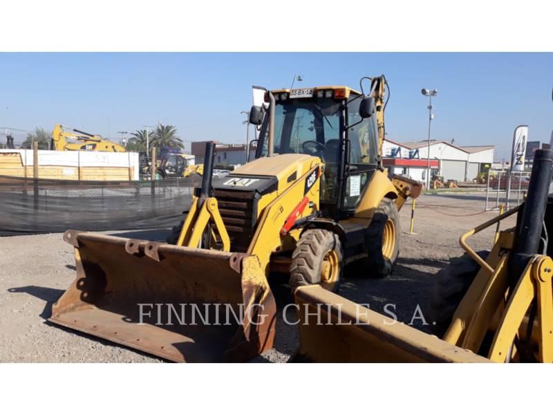 CATERPILLAR BAGGERLADER 420FST equipment  photo 3
