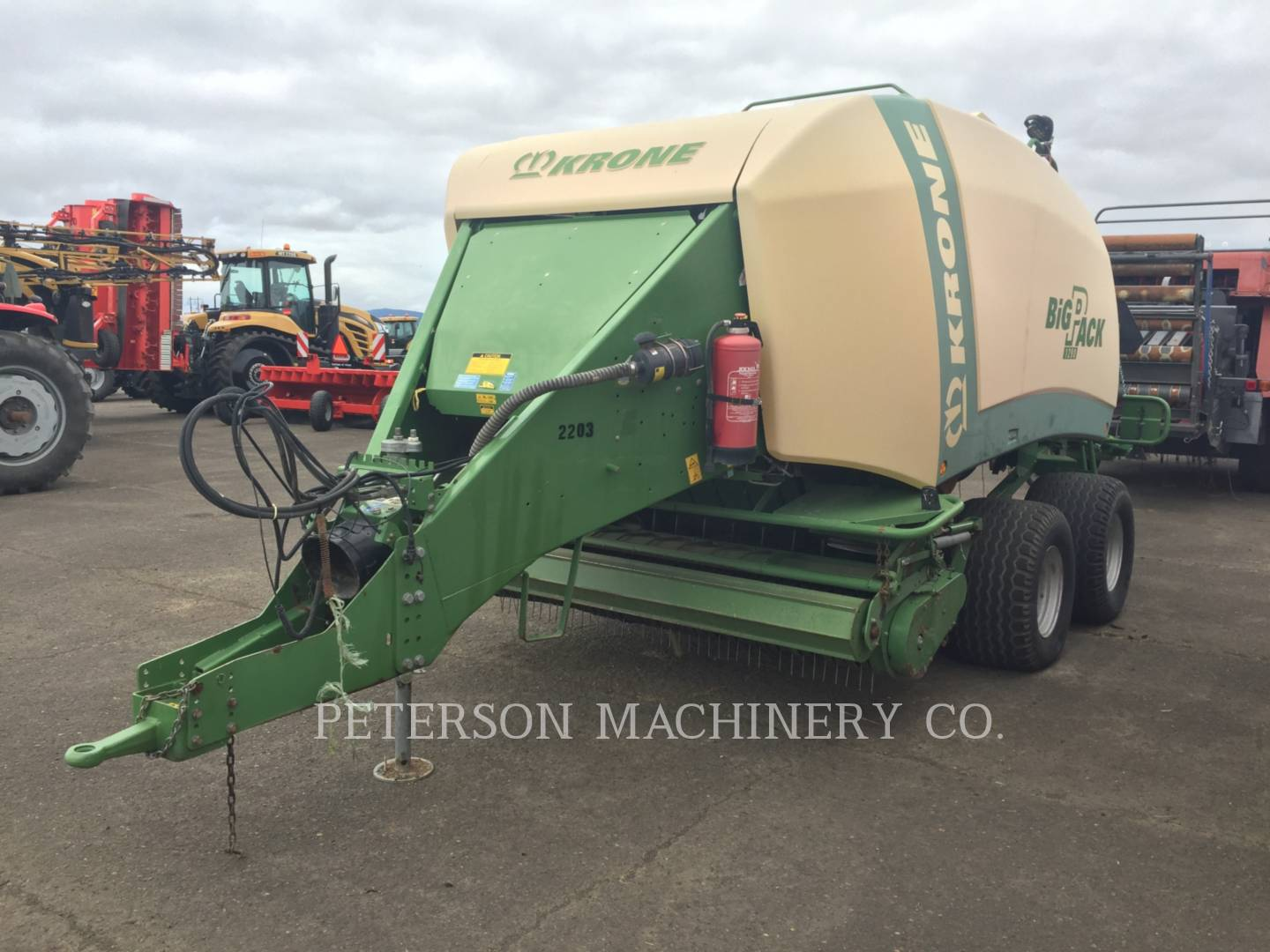 Detail photo of 2009 Krone BP1290 from Construction Equipment Guide