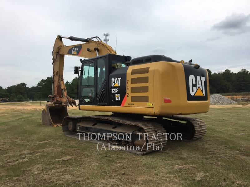 CATERPILLAR EXCAVADORAS DE CADENAS 323F equipment  photo 8