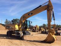 Equipment photo CATERPILLAR M322D ESCAVATORI GOMMATI 1