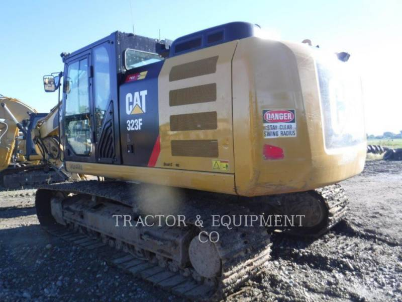 CATERPILLAR ESCAVATORI CINGOLATI 323FL equipment  photo 5