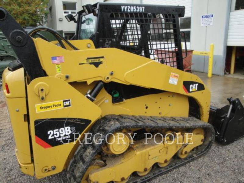 CATERPILLAR PALE CINGOLATE MULTI TERRAIN 259B3 equipment  photo 8
