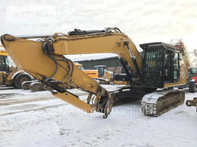 CATERPILLAR TRACK EXCAVATORS 324ELN equipment  photo 2