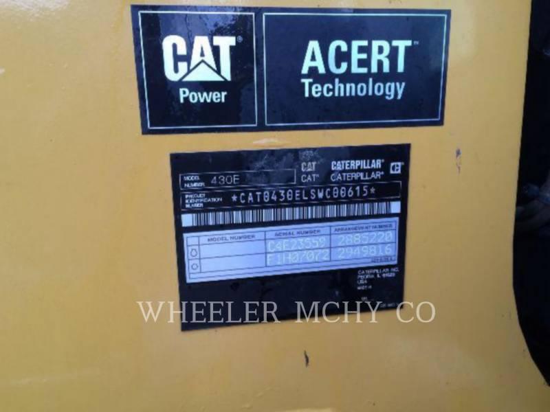 CATERPILLAR BACKHOE LOADERS 430E E equipment  photo 4
