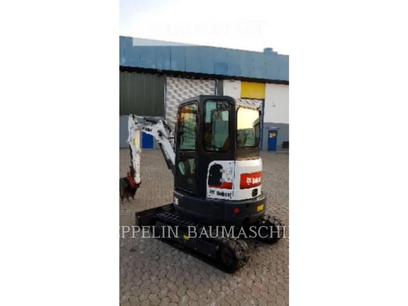 BOBCAT TRACK EXCAVATORS E26 equipment  photo 5