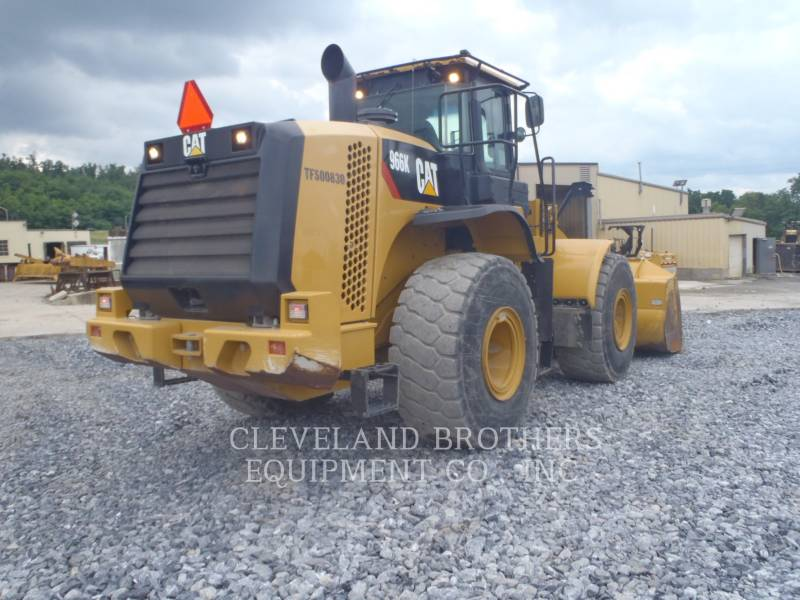 CATERPILLAR RADLADER/INDUSTRIE-RADLADER 966K equipment  photo 4