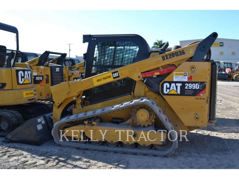 CATERPILLAR CARREGADEIRAS TODO TERRENO 299D2XHP equipment  photo 1