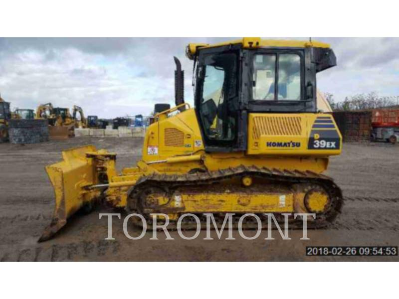 KOMATSU LTD. TRACTEURS SUR CHAINES D39PX-22 equipment  photo 3