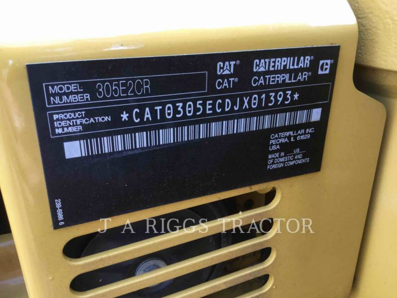 Caterpillar EXCAVATOARE PE ŞENILE 305E equipment  photo 9