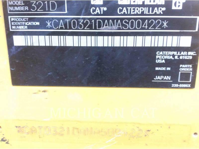CATERPILLAR TRACK EXCAVATORS 321DLCR equipment  photo 24