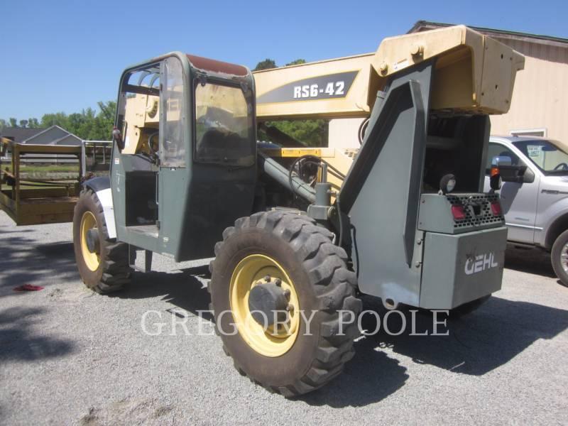 GEHL COMPANY TELEHANDLER RS642 equipment  photo 5