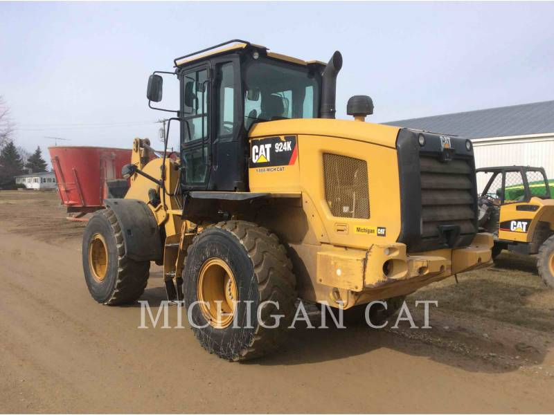 CATERPILLAR WHEEL LOADERS/INTEGRATED TOOLCARRIERS 924K HLSRQ equipment  photo 4