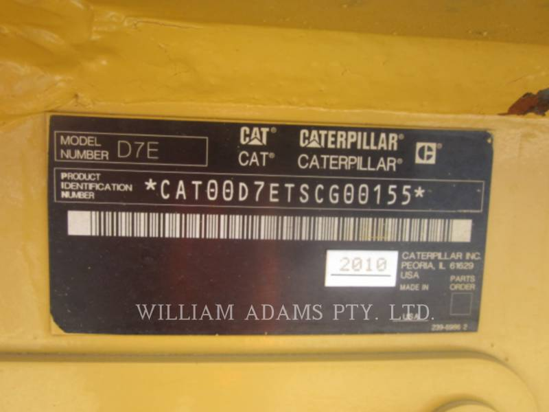 CATERPILLAR TRACK TYPE TRACTORS D7E equipment  photo 3
