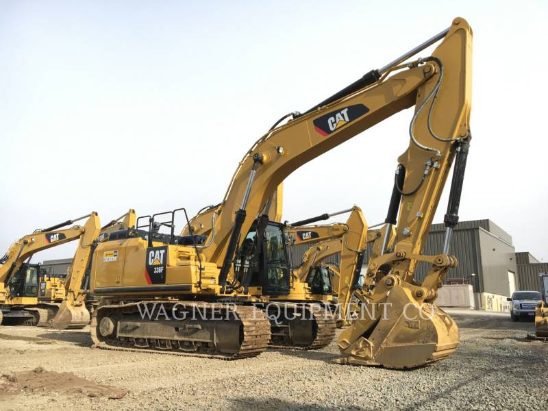CATERPILLAR KETTEN-HYDRAULIKBAGGER 336FL THB equipment  photo 4