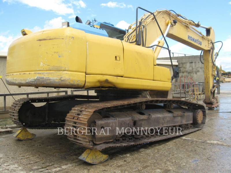 KOMATSU KETTEN-HYDRAULIKBAGGER PC240NLC8 equipment  photo 3