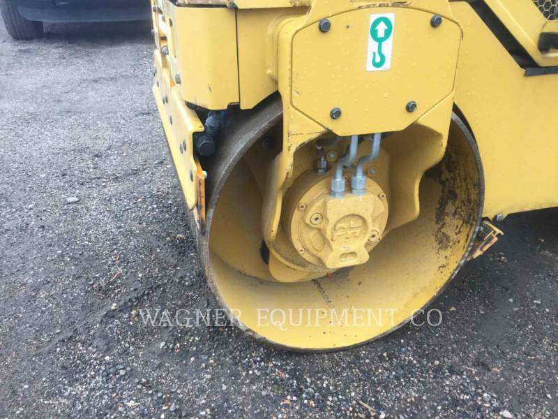 CATERPILLAR TAMBOR DOBLE VIBRATORIO ASFALTO CB14B equipment  photo 5