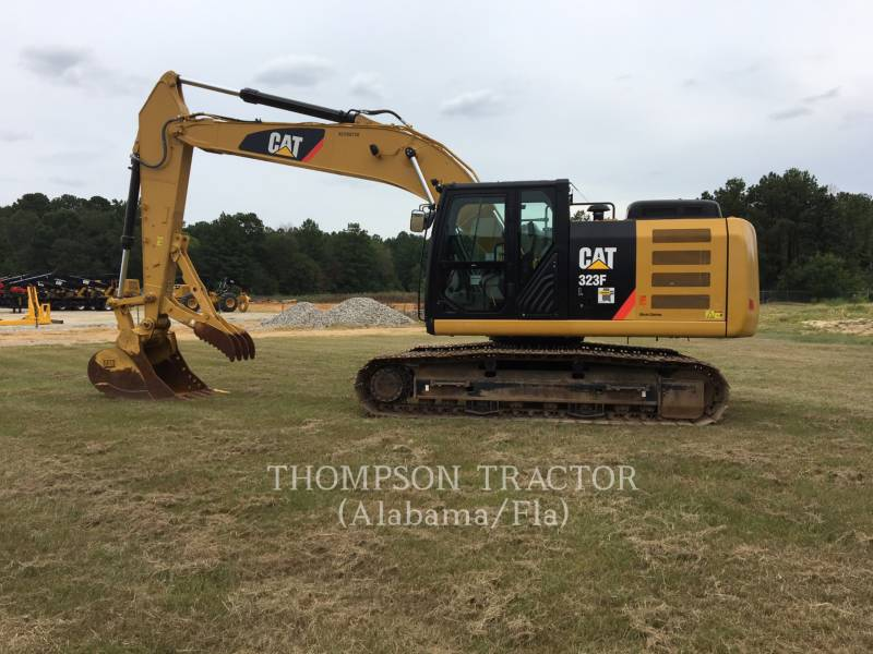 CATERPILLAR KETTEN-HYDRAULIKBAGGER 323FL equipment  photo 10