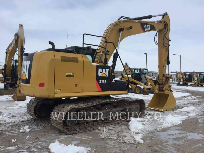 CATERPILLAR PELLES SUR CHAINES 316E L CF equipment  photo 3
