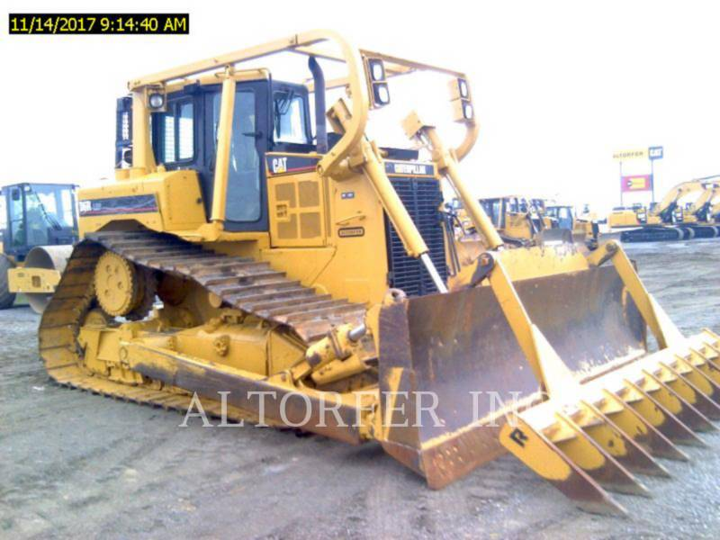 CATERPILLAR TRACK TYPE TRACTORS D6R LGP equipment  photo 2