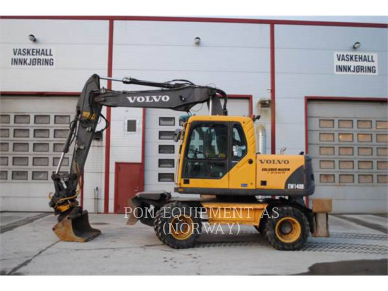 VOLVO CONSTRUCTION EQUIPMENT ESCAVADEIRAS DE RODAS EW140B equipment  photo 1