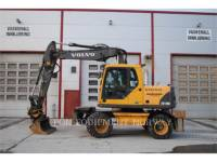 Equipment photo VOLVO CONSTRUCTION EQUIPMENT EW140B WHEEL EXCAVATORS 1