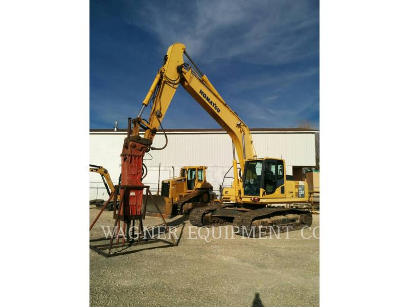 KOMATSU TRACK EXCAVATORS PC220LC-8 equipment  photo 1