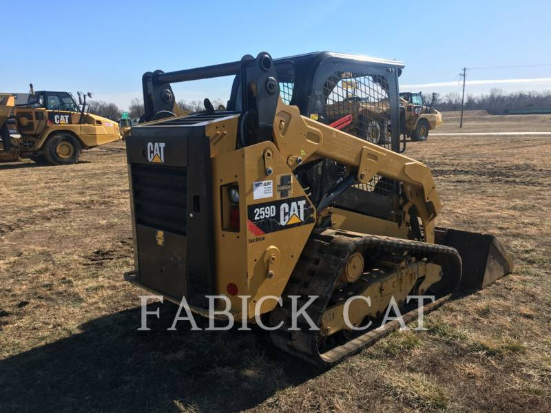 CATERPILLAR DELTALADER 259D C1H2 equipment  photo 1
