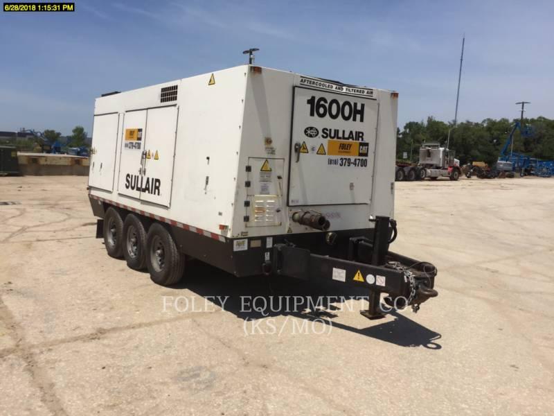 SULLAIR AIR COMPRESSOR (OBS) 1600HAFDTQ equipment  photo 1