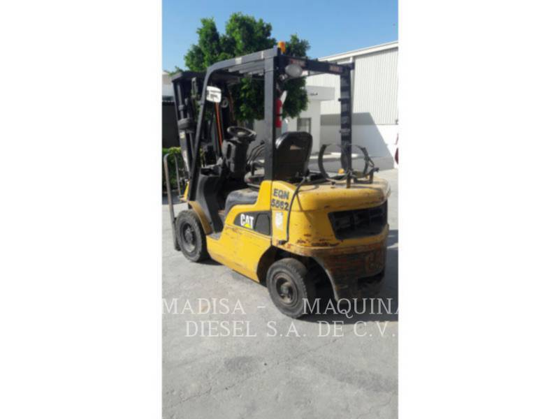 MITSUBISHI CATERPILLAR FORKLIFT FORKLIFTS 2P5000GLP equipment  photo 2