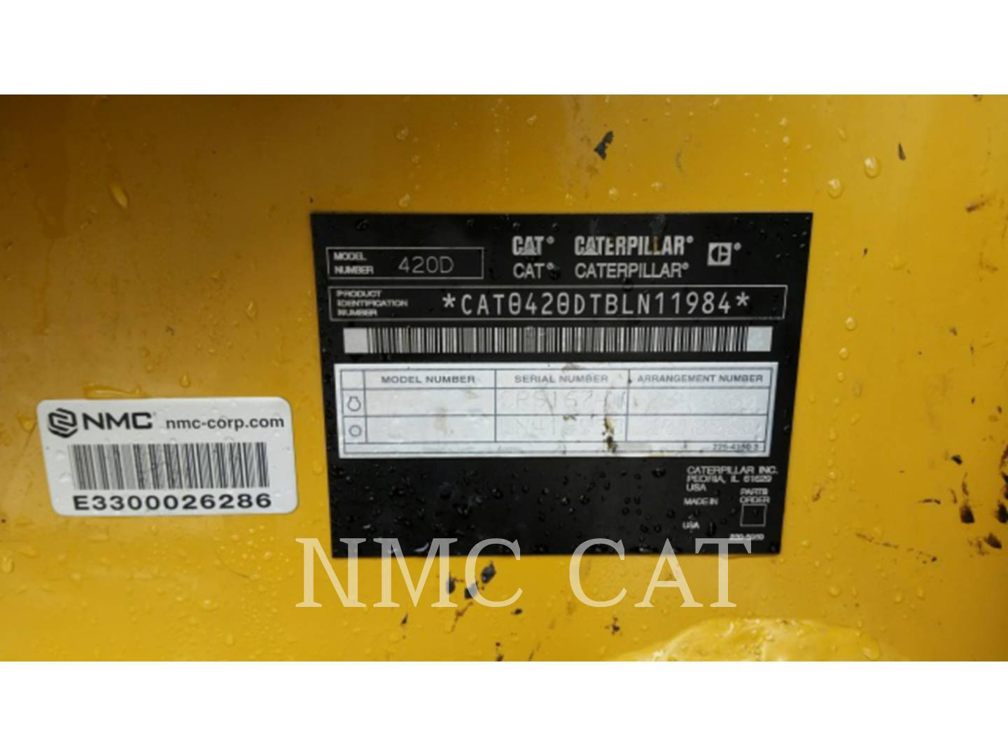 Detail photo of 2005 Caterpillar 420D from Construction Equipment Guide