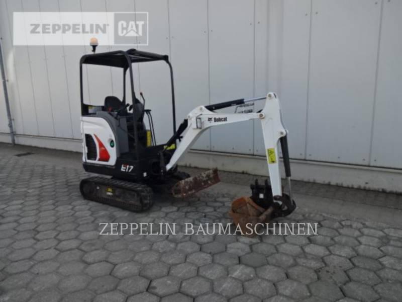BOBCAT KETTEN-HYDRAULIKBAGGER E17 equipment  photo 7