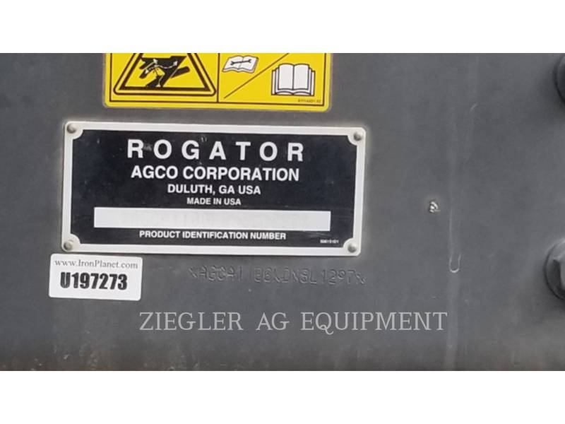 AG-CHEM PULVERIZADOR RG1100 equipment  photo 19