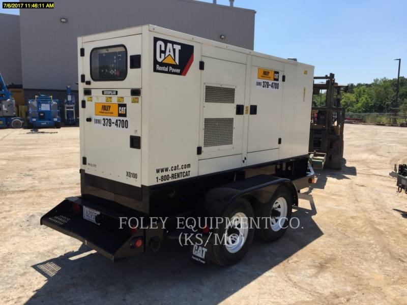 OLYMPIAN CAT PORTABLE GENERATOR SETS XQ100 equipment  photo 2