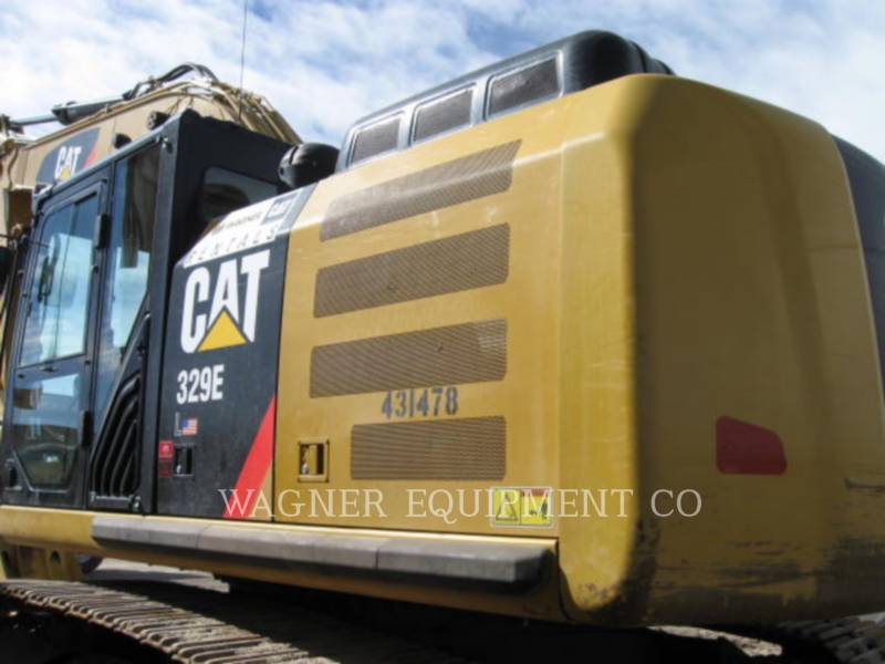 CATERPILLAR TRACK EXCAVATORS 329EL THB equipment  photo 5
