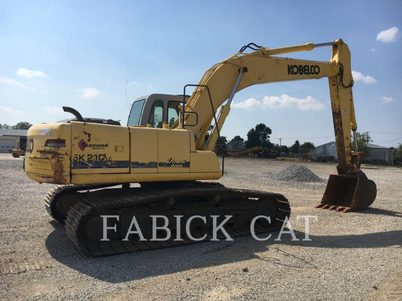 KOBELCO / KOBE STEEL LTD EXCAVADORAS DE CADENAS SK210LC equipment  photo 3