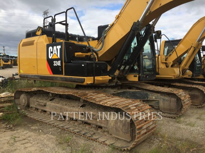 CATERPILLAR TRACK EXCAVATORS 324EL HMR equipment  photo 4