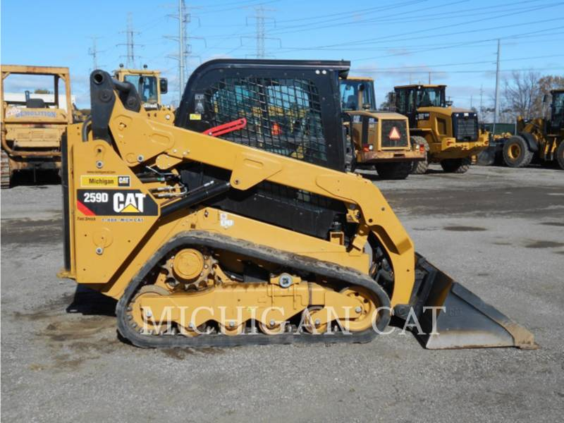 CATERPILLAR MULTI TERRAIN LOADERS 259D AQ equipment  photo 11