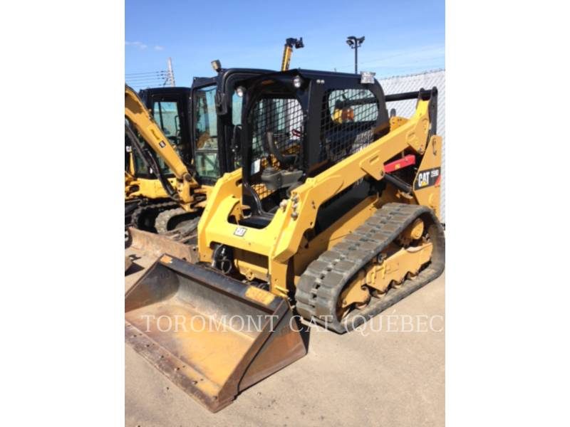 CATERPILLAR CHARGEURS SUR CHAINES 259D equipment  photo 5