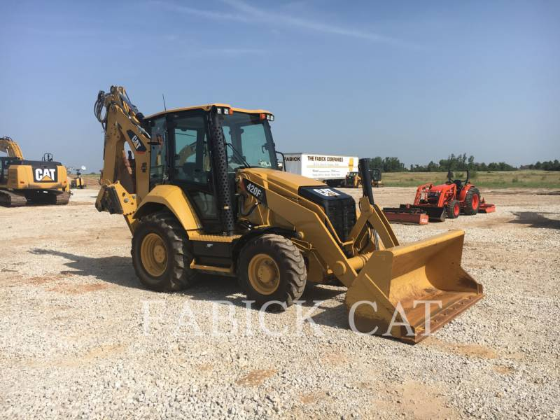 CATERPILLAR CHARGEUSES-PELLETEUSES 420F2 HT equipment  photo 1