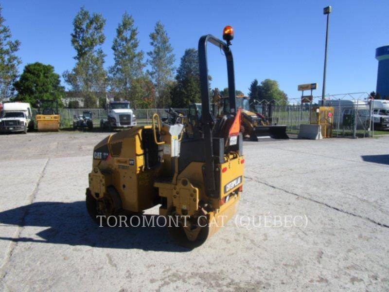 CATERPILLAR TANDEMOWY WALEC WIBRACYJNY DO ASFALTU (STAL-STAL) CB14 equipment  photo 2