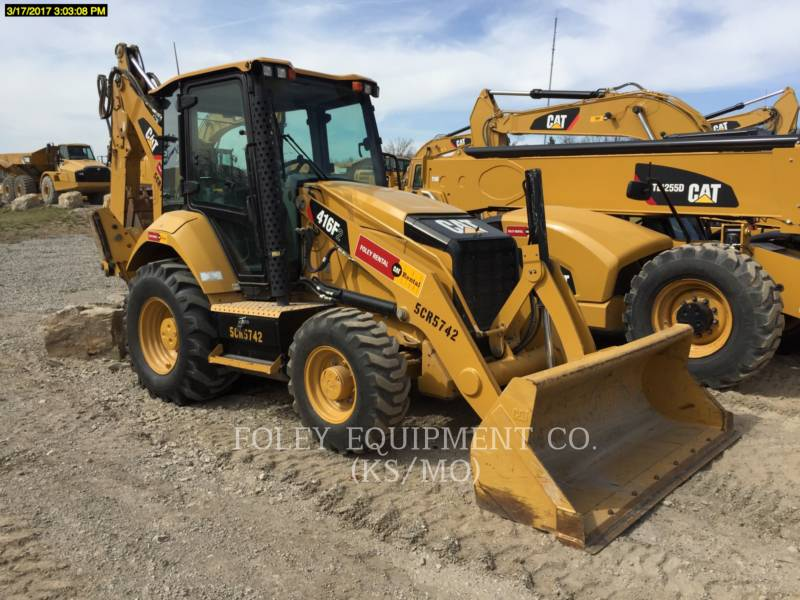 CATERPILLAR RETROEXCAVADORAS CARGADORAS 416F2 equipment  photo 1