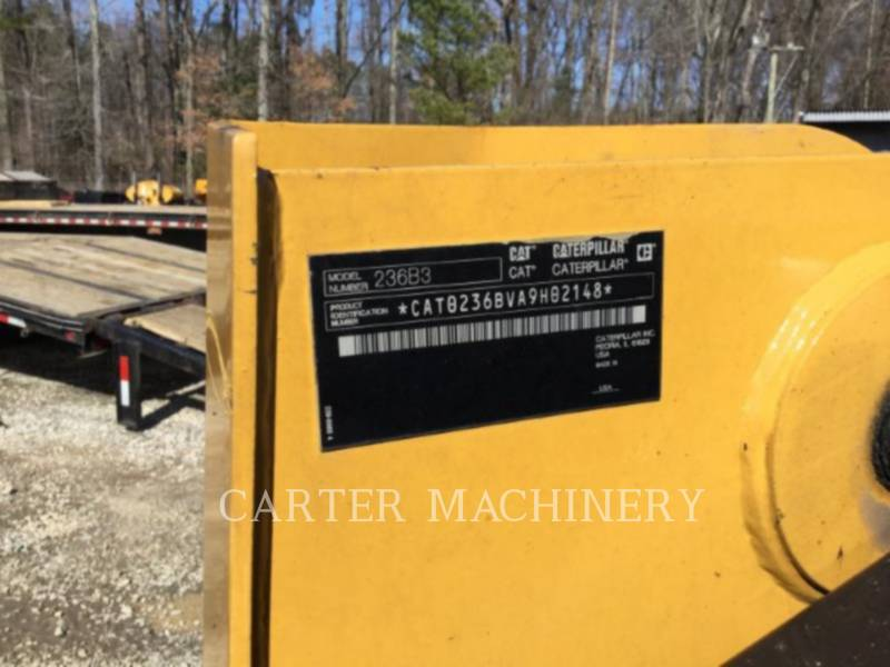 CATERPILLAR SKID STEER LOADERS 236B3 equipment  photo 7