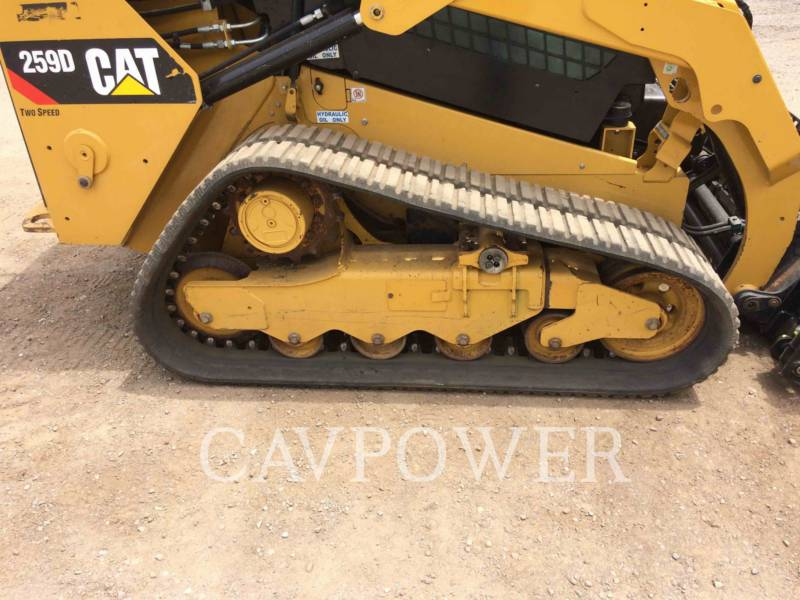 CATERPILLAR CHARGEURS TOUT TERRAIN 259D equipment  photo 14