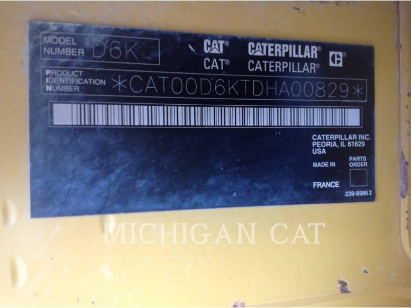 CATERPILLAR TRACK TYPE TRACTORS D6KL equipment  photo 18