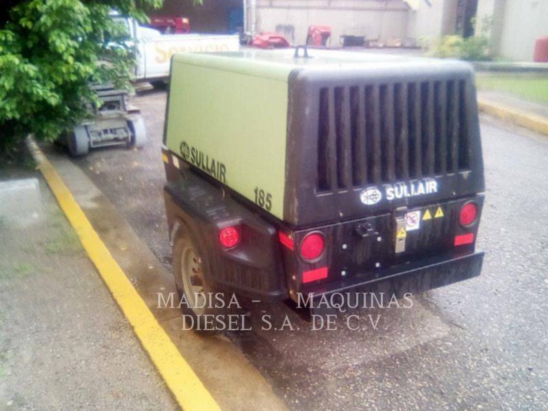 SULLAIR AIR COMPRESSOR 185DPQCAT equipment  photo 3