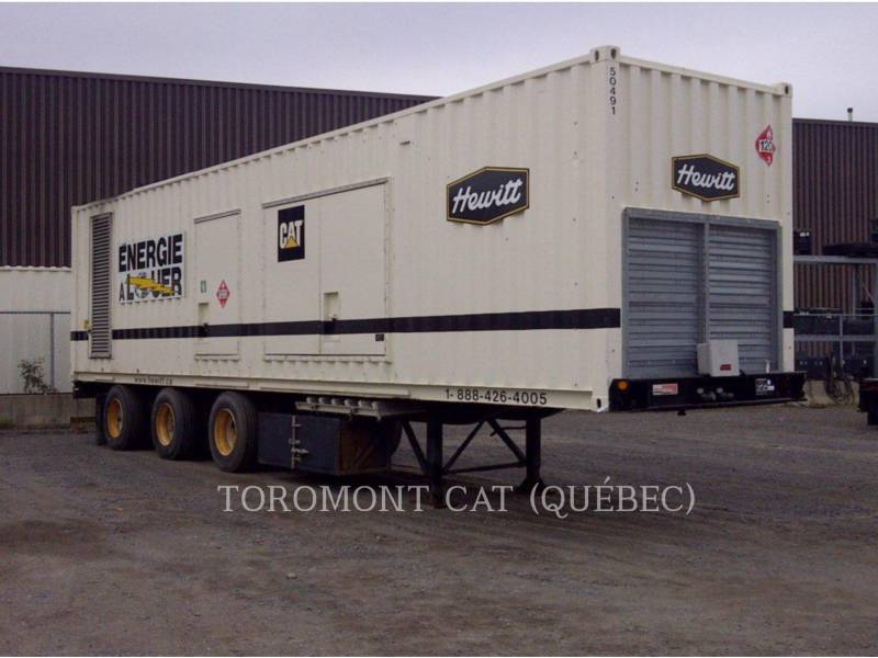 CATERPILLAR MODULES D'ALIMENTATION HQ1000_3512_347/600V equipment  photo 1