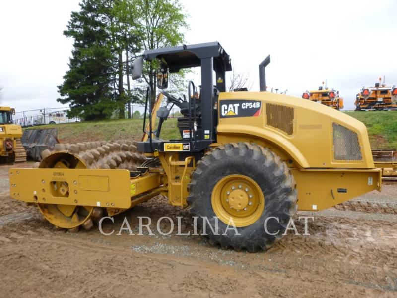 CATERPILLAR VIBRATORY TANDEM ROLLERS CP54B equipment  photo 1