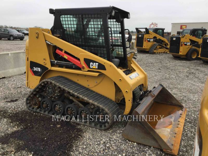 CATERPILLAR UNIWERSALNE ŁADOWARKI 247B3 equipment  photo 2